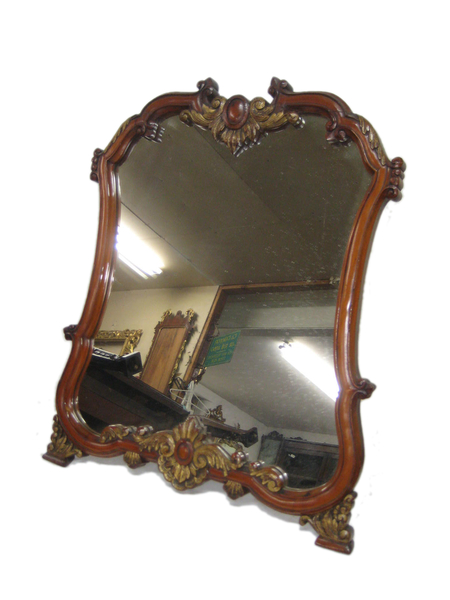 French Tabletop Mirror