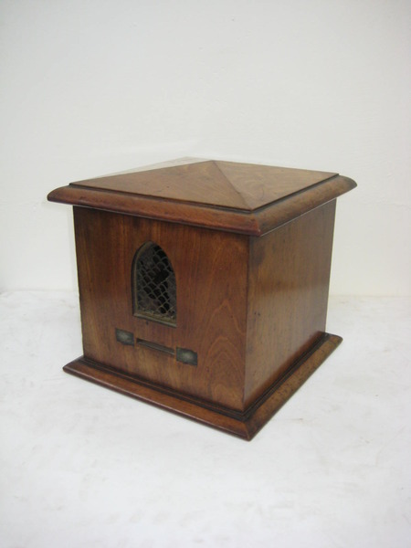 William IV Mahogany Ballot Box