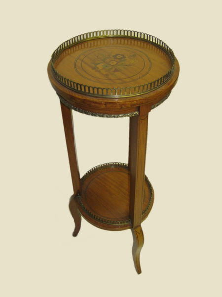 Inlaid Satinwood Occasional Table