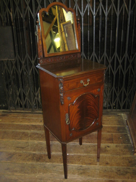 Mahogany Stand with Mirror