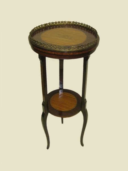 Satinwood Inlaid Occasional Table