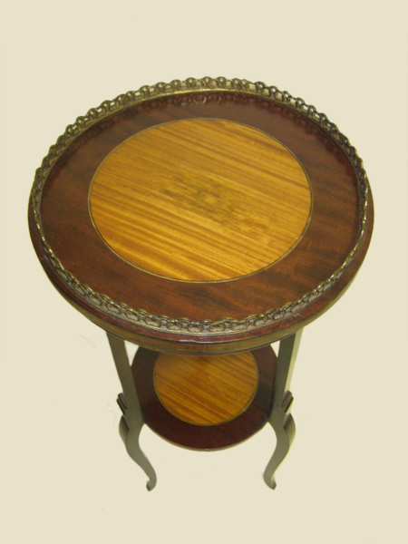 Antique Satinwood Inlaid Occasional Table