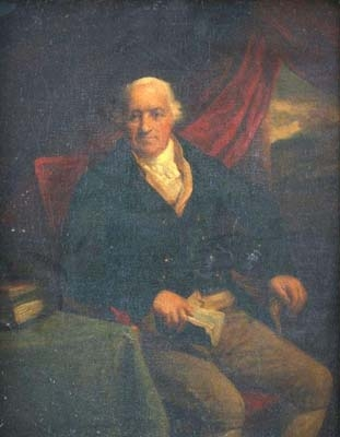 Antique William Fullerton Elphinstone 1740-1834 , Chairman of the East India Company