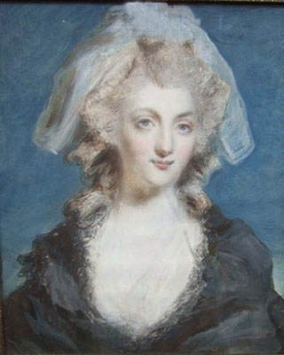 Antique Portrait of Mary Anne Uhthoff,  1784-1826