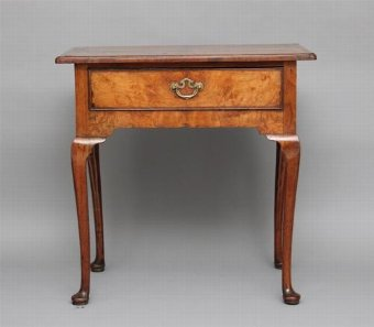 Antique 18TH CENTURY GEORGIAN ELM LOWBOY TABLE
