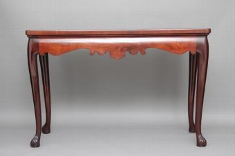 Antique 18TH CENTURY GEORGIAN MAHOGANY SERVING TABLE