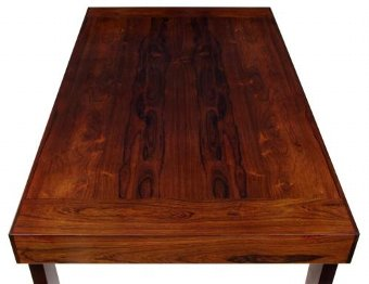 Antique 20TH CENTURY DANISH ROSEWOOD COFFEE TABLE