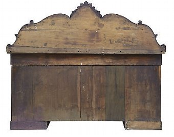 Antique 19TH CENTURY WILLIAM IV MAHOGANY SIDEBOARD