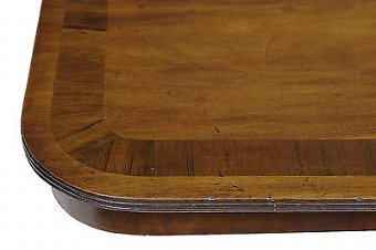 Antique 19TH CENTURY MAHOGANY BREAKFAST TILT TOP TABLE