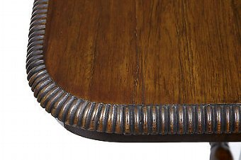 Antique 19TH CENTURY REGENCY ROSEWOOD WRITING LIBRARY TABLE