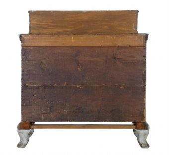 Antique 19TH CENTURY SWEDISH BAROQUE 2 TIER COMMODE CHEST OF DRAWERS