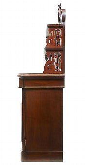 Antique 19TH CENTURY FRENCH MAHOGANY CHIFFONNIER SIDEBOARD