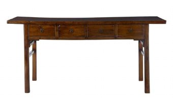 Antique 19TH CENTURY CHINESE LACQUERED SIDEBOARD TABLE