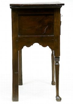 Antique 18TH CENTURY ANTIQUE SMALL YEW WOOD SIDE TABLE DRESSER