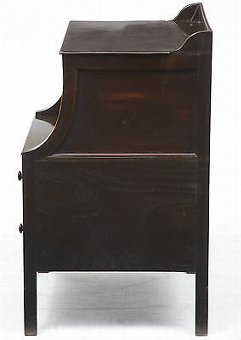 Antique 18TH CENTURY GEORGIAN MAHOGANY BEDSIDE COMMODE