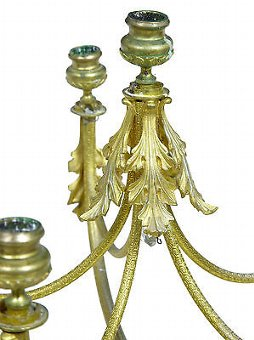 Antique 19TH CENTURY FRENCH ORMOLU 6 CANDLE CANDLEBRA