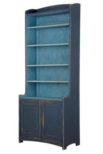 19TH CENTURY PAINTED SWEDISH BOOKCASE SIDEBOARD