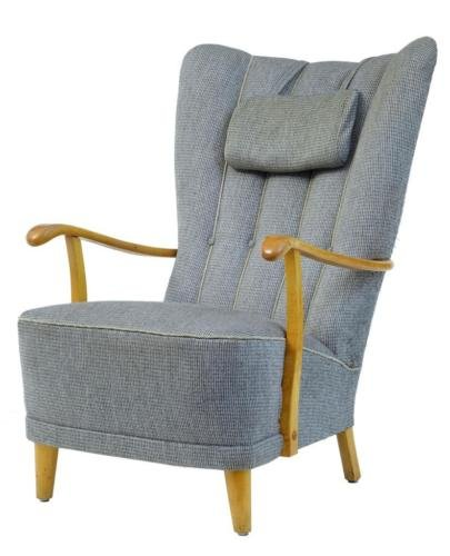 20TH CENTURY 1960's SWEDISH BIRCH ARMCHAIR