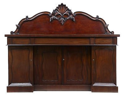 19TH CENTURY WILLIAM IV MAHOGANY SIDEBOARD