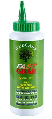 Antique 1KG WUDCARE FAST GRAB 5 MINUTE PU WOOD ADHESIVE