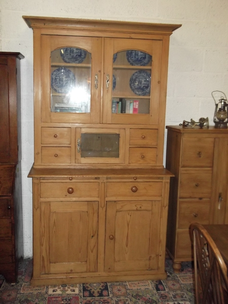 Antique 19thc Pine Dresser