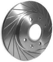 Red Dot 20 groove brake discs for Citroen saxo