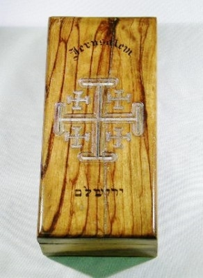 Jerusalem Wooden Box