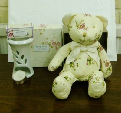 Lovely Scent Poupouri with matching Teddy Bear