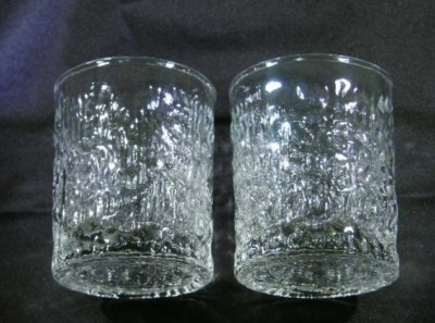 A Beautiful Pair of Clear Candle Scones