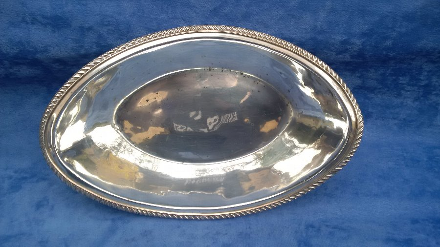 Antique ANTIQUE 18TH CENTURY GEORGIAN ENGLISH OLD SHEFFIELD PLATE BREAD BASKET CIRCA 1780