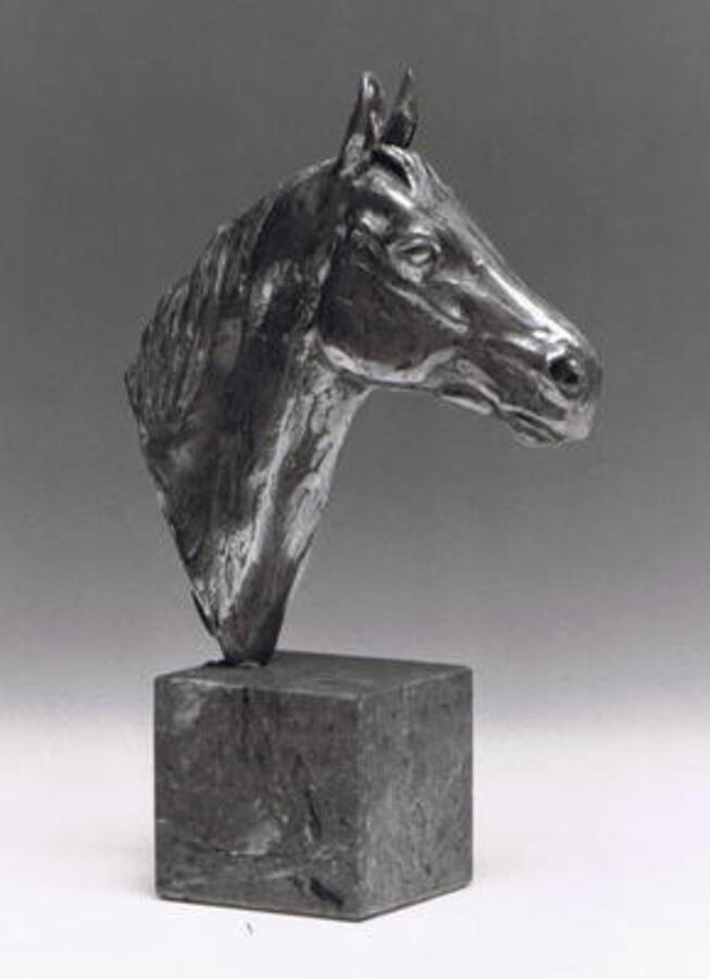 HORSE HEAD (SILVER) BY ENZO PLAZZOTTA