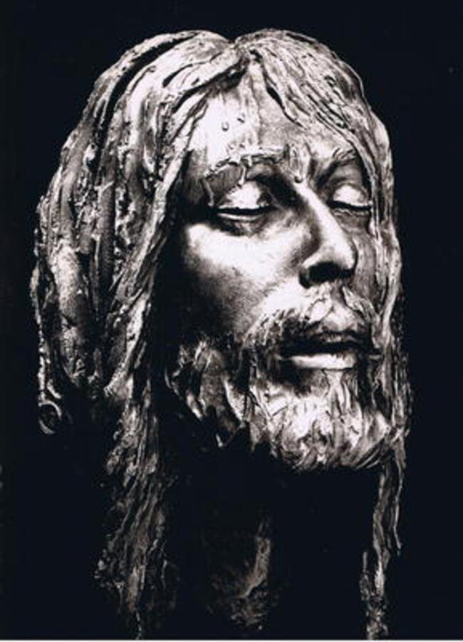 JESUS CHRIST MASK II (DEATH) BY ENZO PLAZZOTTA