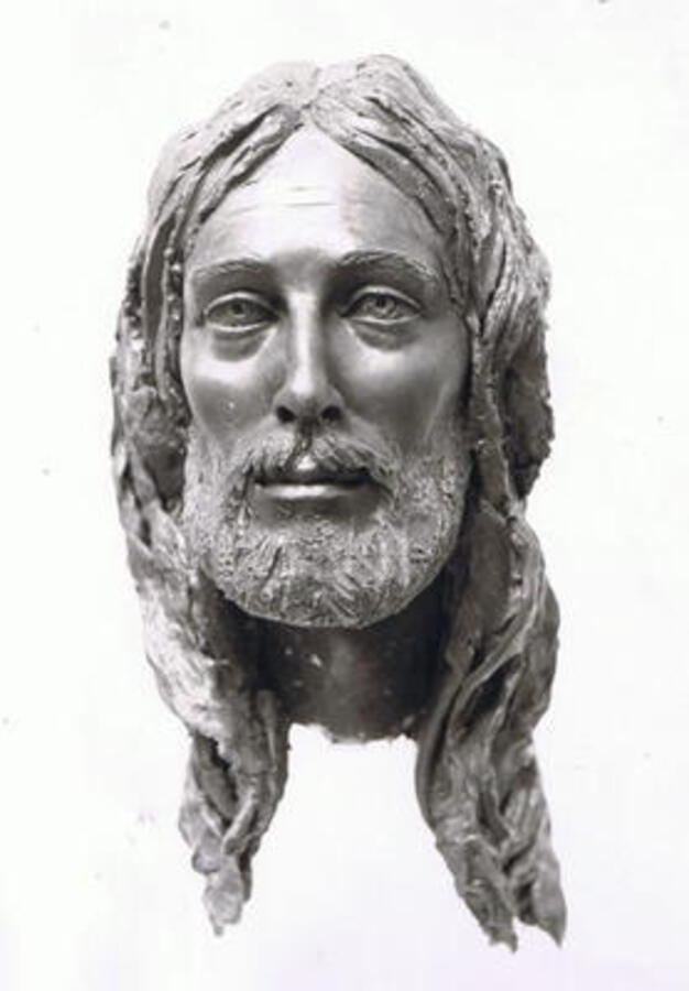 JESUS CHRIST MASK III (RESSURRECTION) BY ENZO PLAZZOTTA BRONZE EDITION OF 9
