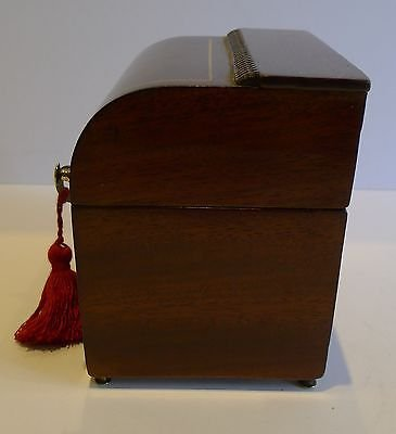 Antique Antique English Inlaid Georgian Tea Caddy c.1810