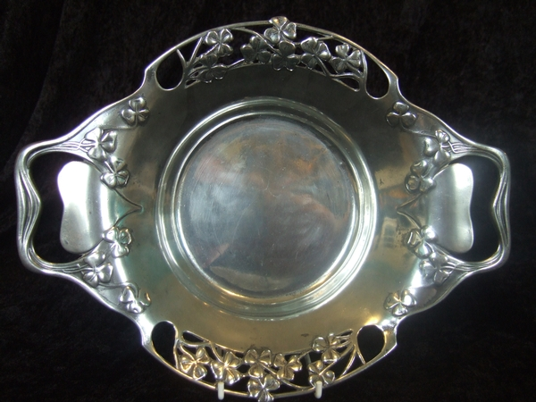 Liberty & Co Tudric Pewter Dish by Archibald Knox No 287