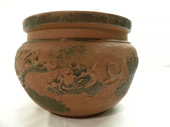 Antique Chinese terracotta bowl - Item 162