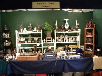 Antique Our display at Goodwood House Antique Fair 2014