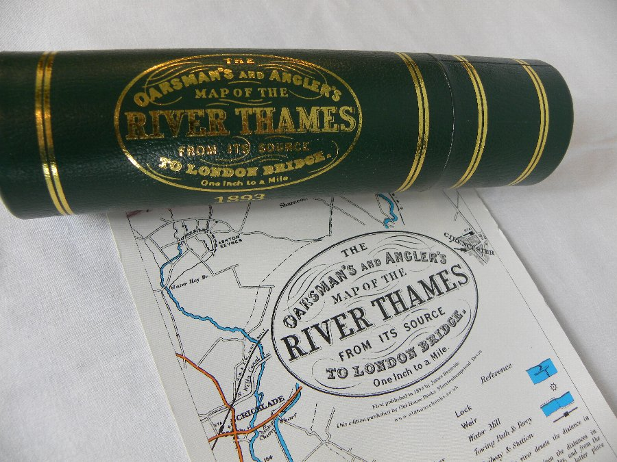 Facsimile of a 1893 map of the Thames - Item 3157