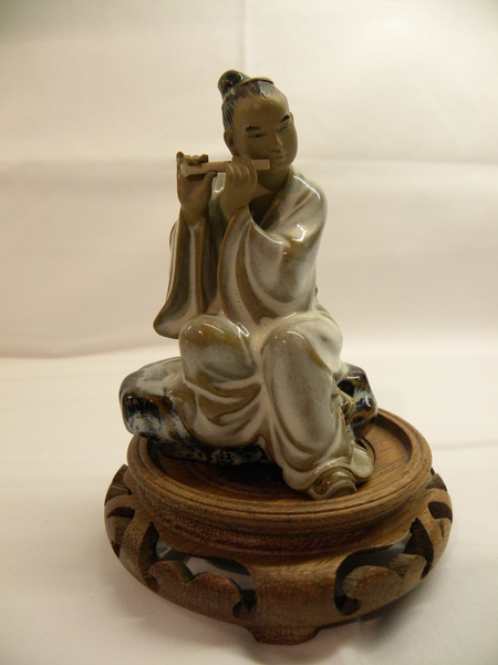 Chinese Glazed Pottery Figure