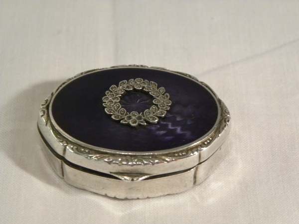 Silver & Enamel Box - Item 193