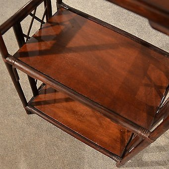 Antique Bentwood Bookcase Display Shelves What Not Shelf Unit Storage 20th Century