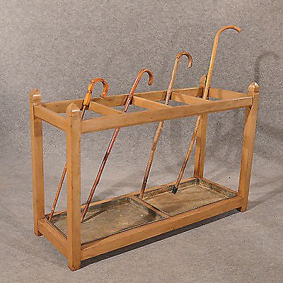 Antique Antique Umbrella Stick Hall Golf Club Bag Stand Large 4' English Victorian c1900