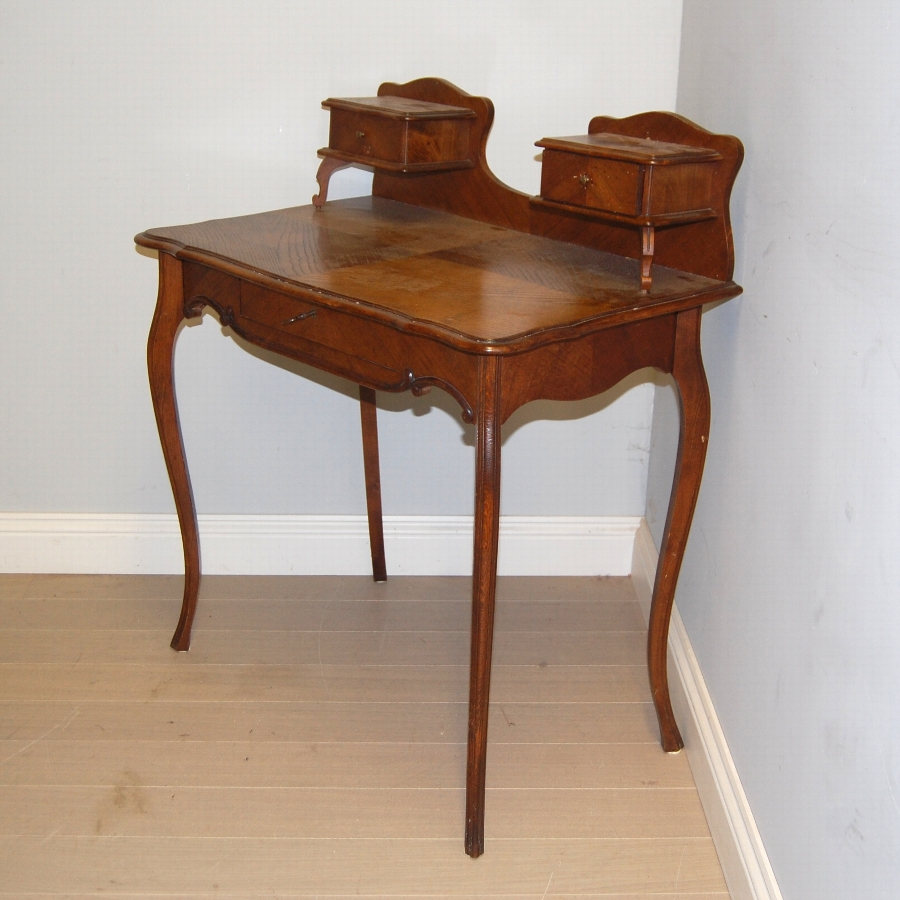 French antique desk or dressing table