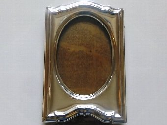 Antique Lovely Antique Hallmarked Silver Photo Frame