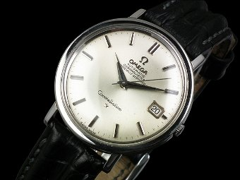 Omega Constellation auto date chronometer vintage watch - c1966