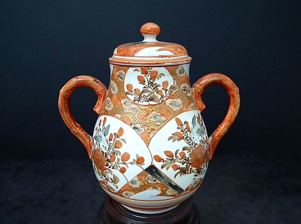 Antique Japanese Imari hand painted antique teapot - c1800s