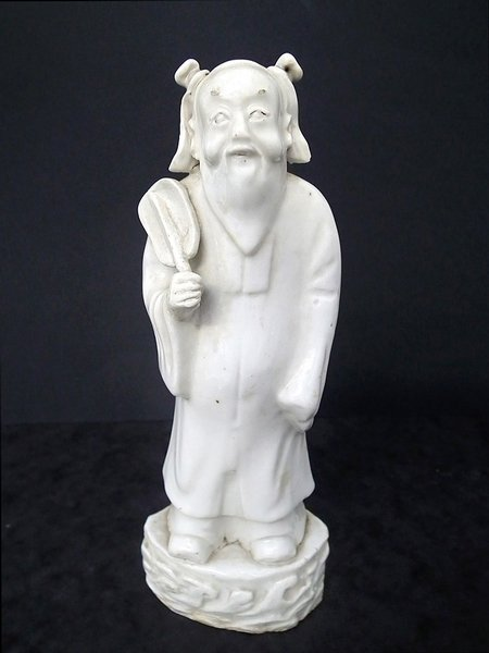 Chinese Zhongli Quan immortal antique figure - 1780s