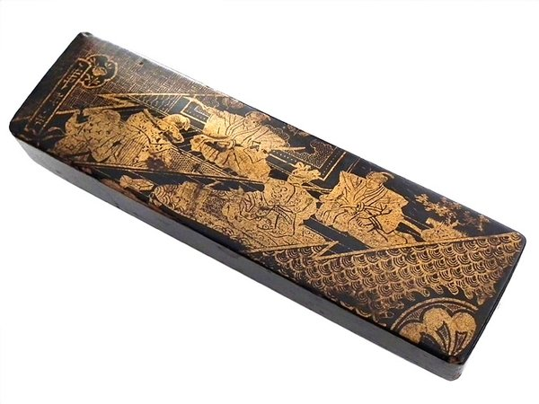 Japanese Meiji hand made antique box - late 1800s
