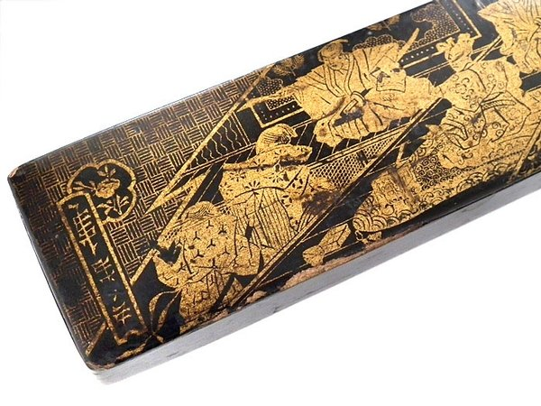 Antique Japanese Meiji hand made antique box - late 1800s