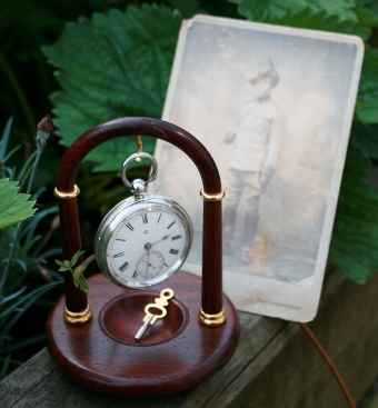 Antique Victorian Boar War Pocket Watch.